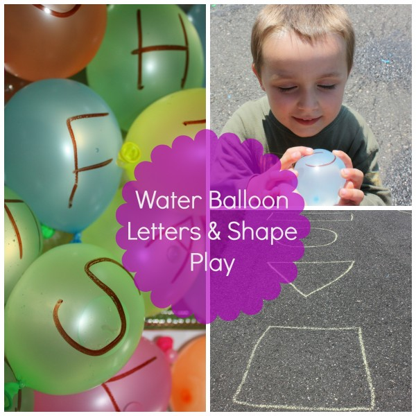 water-balloon-letter-shape-play