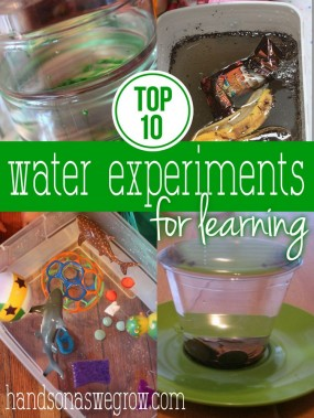 top 10 water experiments for learning