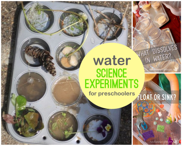 Science experiments for preschoolers hands on as we grow water science experiments for preschoolers to try forumfinder Images