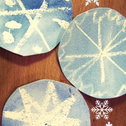 Cookie Cutter Snowflakes From 3 Dinosaurs Watercolor