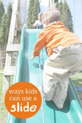 Ways Kids Can Use a Slide (Other Than Sliding Down It)