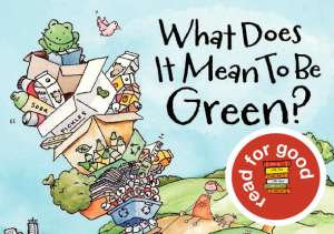 'What Does It Mean to be Green?' on MeMeTales #readforgood Readathon