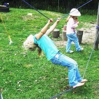 Rope Bridge - 30 Gross Motor Activities for Kids!
