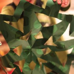 Wrapping Paper Snowflakes