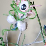 Yarn Monsters: A Halloween Craft for Kids